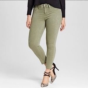 NWT Mossimo High Rise Jegging Crop Jeans